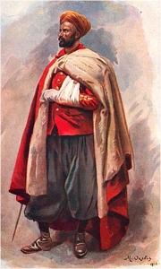 Spahi marocain 1915 Spahiblesse